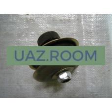 Подушка  двигателя  УАЗ 452, 469 (1 шт.) ПЕРЕДНЯЯ с чашками (г.Ульяновск)
