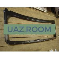 Рамка  ветрового стекла под крышу  УАЗ 3151, Хантер, 469 (БЕЗ стекла)