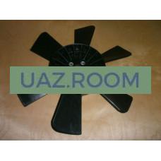 Вентилятор  УАЗ (крыльчатка ПЛАСТ., 6 лопастей)