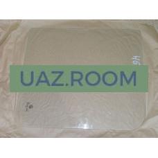 стекло  УАЗ 452 передней двери опускное (ПО) 440*388