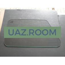 стекло  УАЗ 469, Хантер бокового окна крыши (Боковины крыши) 769*417