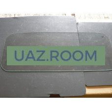 стекло  УАЗ 469 задней двери крыши (ЗК) 1017*402
