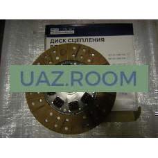 Диск  сцепления  УАЗ дв.4178,4218 (под корзину D254 мм, широкий вал 4-хст. КПП)  'УМЗ' (в уп.)