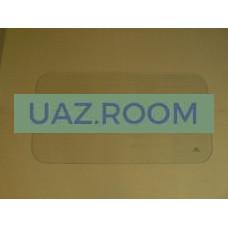 стекло  УАЗ 452 двери салона цельное (БДЦ) 728*380