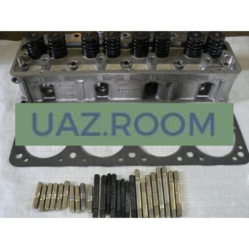Головка  блока в сб. ГАЗ 402, 4026 дв. (АИ-92) с клапанами
