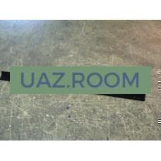 Уплотнитель  опускного стекла  УАЗ 452 нижний (бархотка короткая)