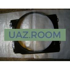 Диффузор  (кожух вентилятора)  УАЗ Хантер (409 дв.), 315196 'УАЗ', металл.