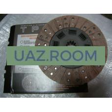 Диск  сцепления  УАЗ дв.4178,4218 (под корзину D254 мм, широкий вал 4-хст. КПП) 'ТРИАЛ'