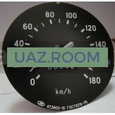 Спидометр  УАЗ 3160, ГАЗ 3302 ГАЗель, 180 КМ