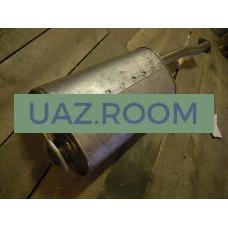 Глушитель  УАЗ Патриот 2005-07, 3162 (дв.ЗМЗ 409 ), фланцы 2