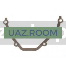 Прокладка  передней крышки ГБЦ УАЗ дв.409, ГАЗ дв.406 (паронит) (ЗМЗ)
