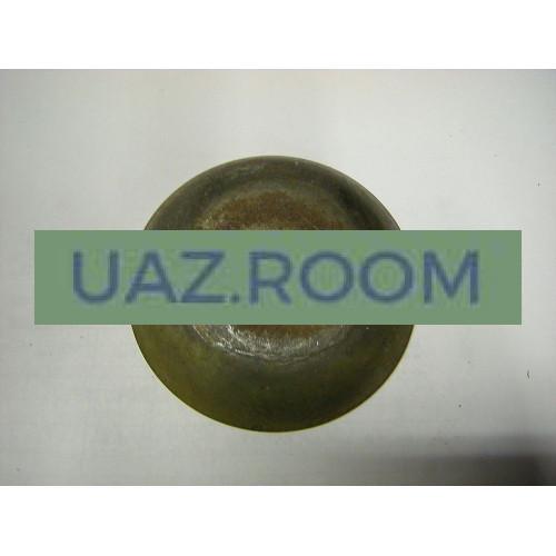 Шайба  маслоотражательная подушки  двигателя  УАЗ (колпак защитный)