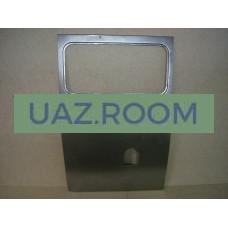 Панель  боковины  УАЗ 39094 ЛЕВАЯ под бензобак (под стекло)