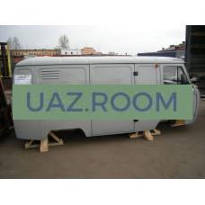 Кузов  3741  1-ой к-кт в сб. 'Фургон' (глухой фургон, под инжект. двиг. УМЗ-4213, Евро-2)