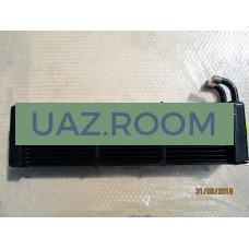 Радиатор  отопителя  УАЗ 469 (трубки 16мм) МЕДНЫЙ ТРЕХрядный (ШААЗ)