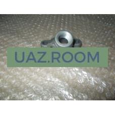 Патрубок  дросселя отводящий дв.40904 УАЗ, 40524,40525 ГАЗ (Евро-3) ЗМЗ