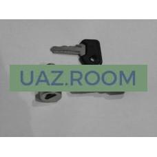 Вставка  двери с ключом  УАЗ 452 (цилиндр) К-КТ 2 ШТ.