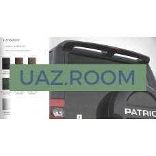 Антикрыло  УАЗ Патриот 2005-2016г. окрашенное (цвет Зелёный НЕметаллик)